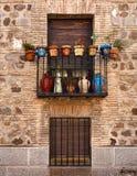 Ισπανία Παράθυρο και μπαλκόνι Στοκ φωτογραφία με δικαίωμα ελεύθερης χρήσης