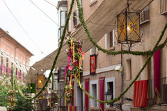 Ισπανία, Τολέδο, θρησκευτικό φεστιβάλ του Corpus Christi Στοκ Εικόνα
