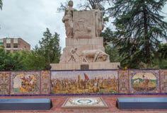 Ισπανία Plaza Mendoza Αργεντινή Στοκ Εικόνες