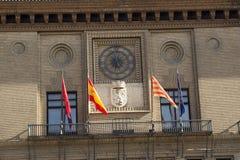 Ισπανία.  Saragossa. Στοκ εικόνες με δικαίωμα ελεύθερης χρήσης