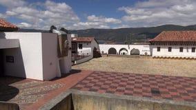 Ισπανικά αποικιακά κτήρια, παλαιά αρχιτεκτονική απόθεμα βίντεο