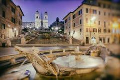 Ισπανικά βήματα, Ρώμη - Ιταλία Στοκ Εικόνα
