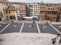 ισπανικά βήματα Ρώμη Στοκ φωτογραφίες με δικαίωμα ελεύθερης χρήσης
