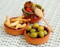 Ισπανικά πρόχειρα φαγητά Στοκ φωτογραφίες με δικαίωμα ελεύθερης χρήσης