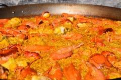 Ισπανικά τρόφιμα παραδοσιακά στοκ φωτογραφία
