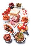 Ισπανικά τρόφιμα tapas Στοκ Φωτογραφίες