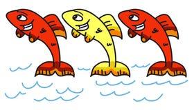 Ισπανικά ψάρια ελεύθερη απεικόνιση δικαιώματος