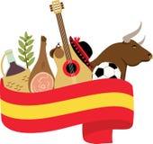 ισπανικά Στοκ Εικόνα