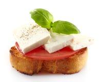 Ισπανικά tapas τροφίμων Στοκ Εικόνες