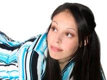 ισπανικές νεολαίες γυναικών Στοκ φωτογραφία με δικαίωμα ελεύθερης χρήσης