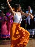 ισπανικές νεολαίες χορ&eps Στοκ Φωτογραφία