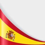 Ισπανική ανασκόπηση σημαιών επίσης corel σύρετε το διάνυσμα απεικόνισης ελεύθερη απεικόνιση δικαιώματος