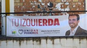 Ισπανική εθνική εκλογή στις 28 Απριλίου 2019 στοκ εικόνες