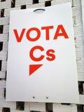 Ισπανική εθνική εκλογή στις 28 Απριλίου 2019 στοκ εικόνα με δικαίωμα ελεύθερης χρήσης