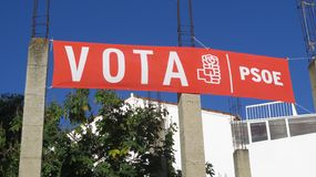 Ισπανική εθνική εκλογή στις 28 Απριλίου 2019 στοκ φωτογραφία με δικαίωμα ελεύθερης χρήσης