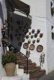 Ισπανική κεραμική για την πώληση σε ένα χωριό Στοκ φωτογραφίες με δικαίωμα ελεύθερης χρήσης
