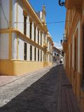 ισπανική οδός χαρακτηρισ&t στοκ εικόνα