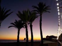 Ισπανική παραλία Στοκ εικόνες με δικαίωμα ελεύθερης χρήσης