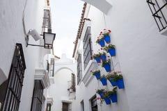 Ισπανική πόλη (Poble Espanyol) - αρχιτεκτονικό μουσείο κάτω από το ανοιχτό ουρανό Στοκ Φωτογραφίες