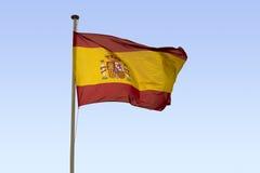 Ισπανική σημαία Στοκ φωτογραφία με δικαίωμα ελεύθερης χρήσης