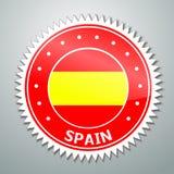 Ισπανική σημαία Στοκ εικόνα με δικαίωμα ελεύθερης χρήσης