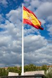 Ισπανική σημαία Στοκ Εικόνες