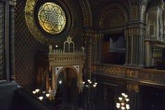 Ισπανική συναγωγή στην Πράγα στοκ φωτογραφία με δικαίωμα ελεύθερης χρήσης