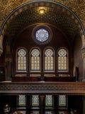 Ισπανική συναγωγή στην Πράγα στοκ φωτογραφία
