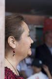 Ισπανική σύζυγος του πολιτικού υποψηφίου Στοκ φωτογραφία με δικαίωμα ελεύθερης χρήσης