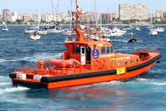 Ισπανική υπηρεσία διάσωσης στοκ εικόνα με δικαίωμα ελεύθερης χρήσης
