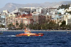 Ισπανική υπηρεσία διάσωσης στοκ φωτογραφίες