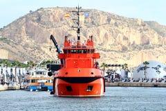 Ισπανική υπηρεσία διάσωσης στοκ φωτογραφία με δικαίωμα ελεύθερης χρήσης