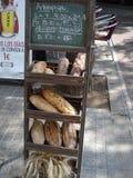 ισπανικός νόστιμος γεύματος ψωμιού healty Στοκ φωτογραφία με δικαίωμα ελεύθερης χρήσης