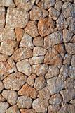 Ισπανικός πέτρινος τοίχος στοκ εικόνα