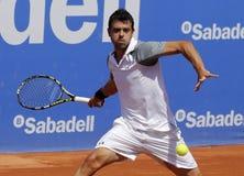 Ισπανικός τενίστας Iñigo Θερβάντες Στοκ Φωτογραφίες