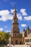 Ισπανικός τετραγωνικός πύργος Στοκ Εικόνες