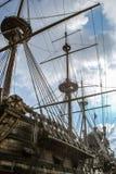 ισπανικό γαλόνι 17ου αιώνα - ο Ποσειδώνας του Columbus Στοκ φωτογραφίες με δικαίωμα ελεύθερης χρήσης