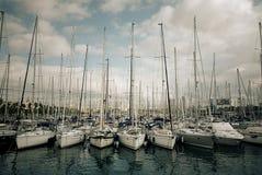 Ισπανικό λιμάνι Στοκ εικόνα με δικαίωμα ελεύθερης χρήσης