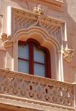 ισπανικό παράθυρο Στοκ εικόνα με δικαίωμα ελεύθερης χρήσης