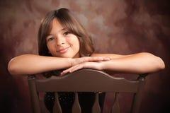 ισπανικό πορτρέτο κοριτσ&iot Στοκ φωτογραφία με δικαίωμα ελεύθερης χρήσης