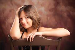 ισπανικό πορτρέτο κοριτσ&iot Στοκ Εικόνες