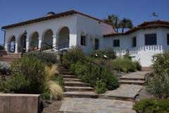Ισπανικό σπίτι Καλιφόρνιας ύφους Στοκ φωτογραφίες με δικαίωμα ελεύθερης χρήσης