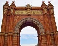 Ισπανικό σχηματισμένο αψίδα μνημείο Στοκ Φωτογραφία