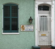 Ισπανικό τέταρτο της Νέας Ορλεάνης Στοκ φωτογραφία με δικαίωμα ελεύθερης χρήσης