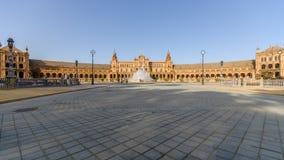 Ισπανικό τετράγωνο στη Σεβίλλη, Plaza de Espana, Ισπανία Στοκ φωτογραφία με δικαίωμα ελεύθερης χρήσης