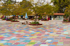 ισπανικό χωριό κεντρικών πάρκων BALBOA τέχνης Στοκ εικόνες με δικαίωμα ελεύθερης χρήσης