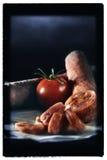 Ισπανικό Chorizo Στοκ φωτογραφία με δικαίωμα ελεύθερης χρήσης