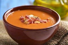 ισπανικό slamorejo ή porra, μια κρύα σούπα ντοματών Στοκ φωτογραφίες με δικαίωμα ελεύθερης χρήσης