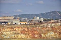 ισπανικό tinto του Ρίο ορυχείων χαλκού Στοκ εικόνα με δικαίωμα ελεύθερης χρήσης