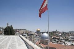 Ισραήλ Ιερουσαλήμ πέρα από την όψη Στοκ Εικόνα